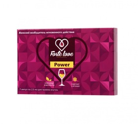 Капли для женщин Forte Love Power (7 ампул по 2,5 мл)