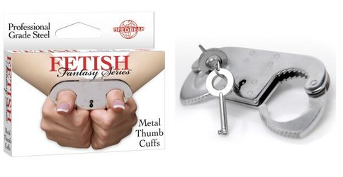Фиксатор на пальцы Metal Thumb Cuffs